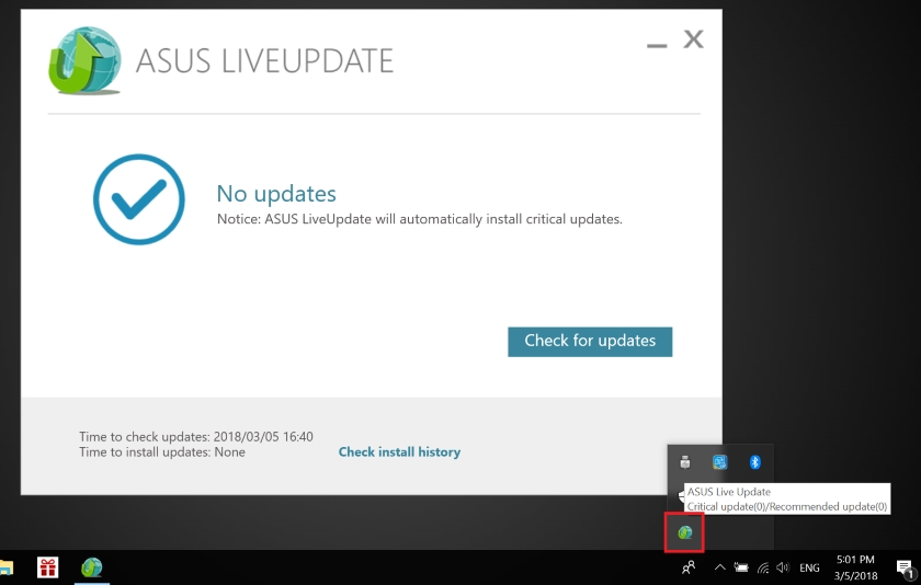 ASUS Live Update Utility