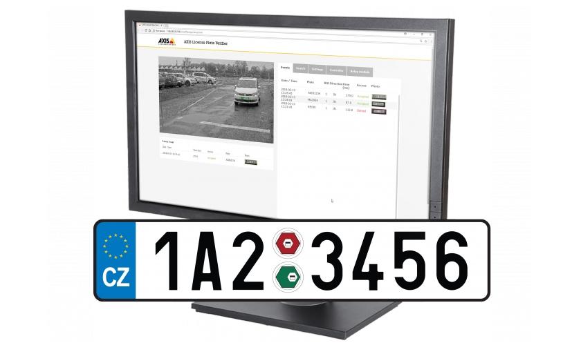Axis přístupové systémy pro vozidla