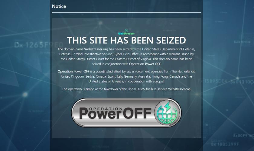 DDoS Webstresser
