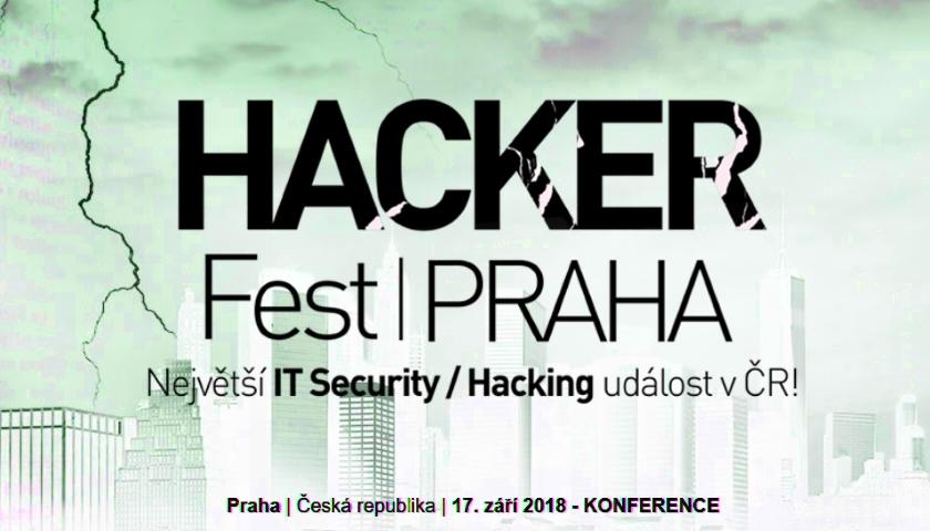HackerFest Praha 2018