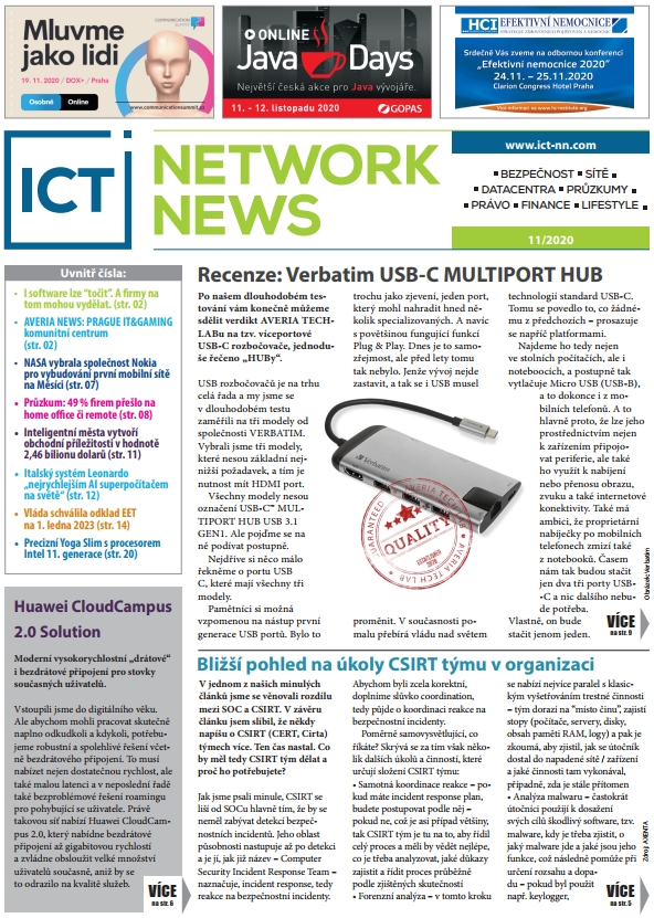 ICT NETWORK NEWS 11-2020 cover