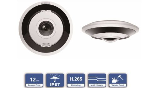 Nové FishEye kamery KEDACOM s integrovanou funkcí dewarping