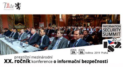 Pozvánka: 20. ročník konference IS2 2019