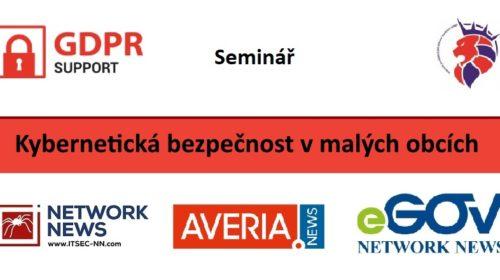 Seminář: Kybernetická bezpečnost v malých obcích