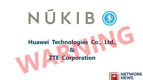 NÚKIB varuje před používáním softwaru i hardwaru společností Huawei a ZTE