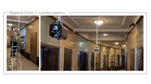 Instalace kamerových systémů pro měření teploty osob v České republice se rozbíhají