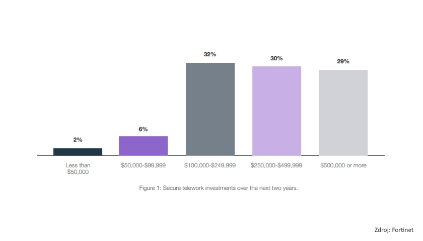: Secure telework investments over the next two years