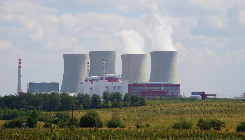 Temelín jaderná elektrárna