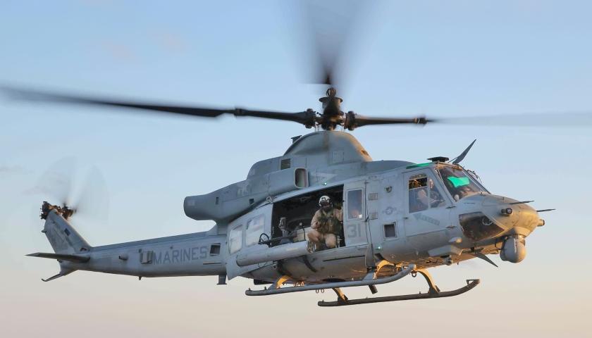 UH-1Y USS