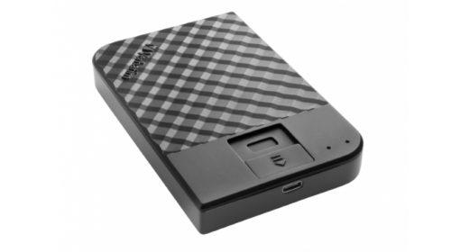 Externí pevný disk s 256bitovým šifrováním a biometrickým přístupem