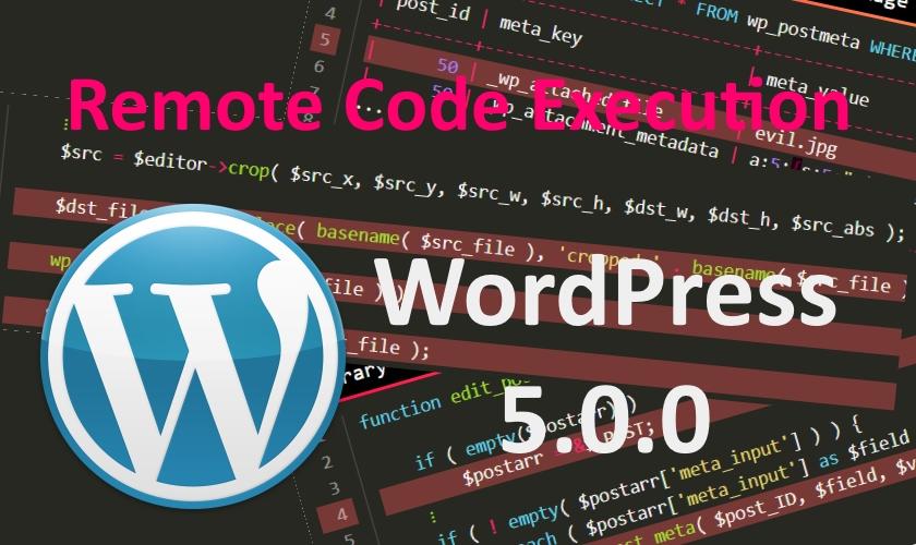 WordPress 5 RCE