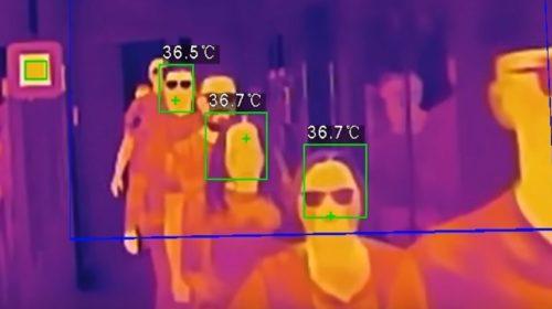 Průzkum: Ceny kamerových systémů pro měření tělesné teploty klesly