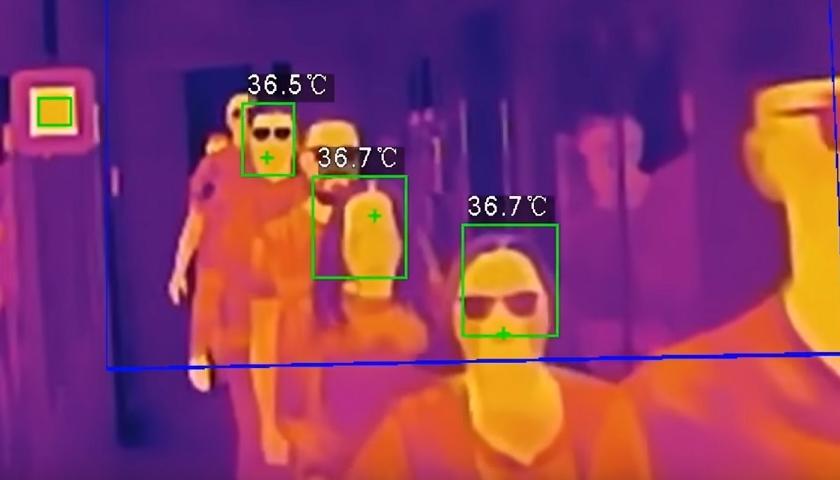 pruzkum termokamery