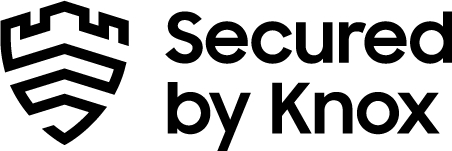 secured by knox logo